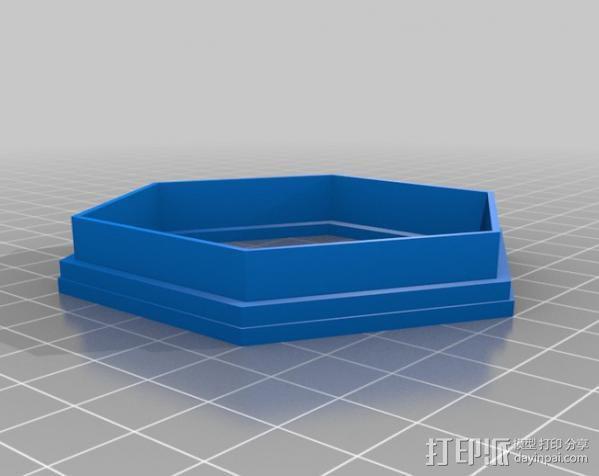 时间领主饼干切割器 3D模型  图2