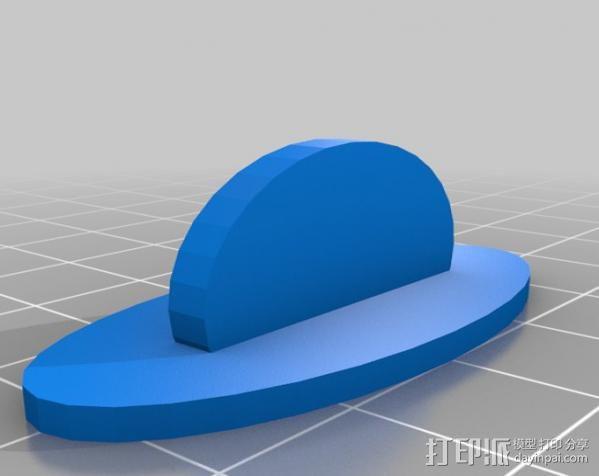 时间领主饼干切割器 3D模型  图3