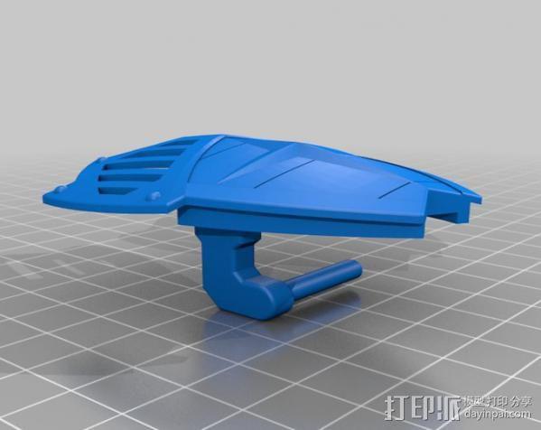 机器人敢达 3D模型  图2