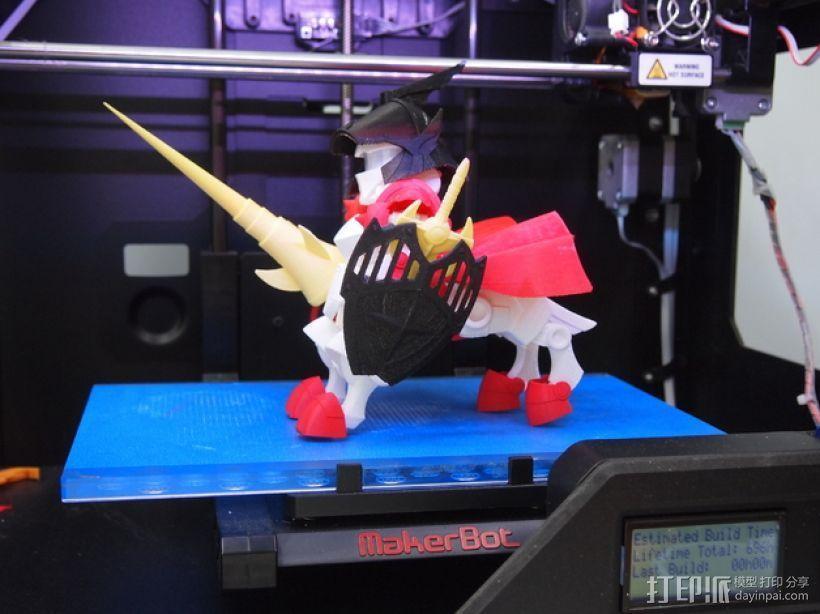 机器人敢达 3D模型  图1