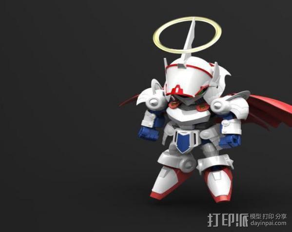 机器人敢达 3D模型  图9