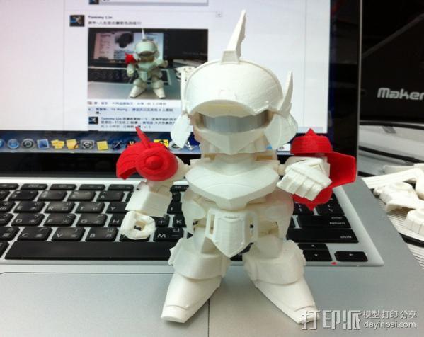 机器人敢达 3D模型  图10