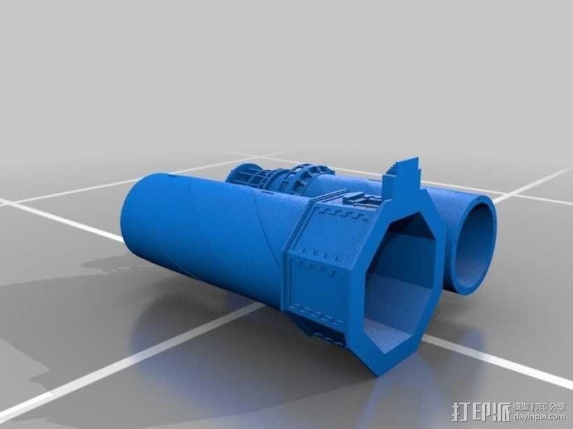 海特瑞斯角灯塔 3D模型  图1
