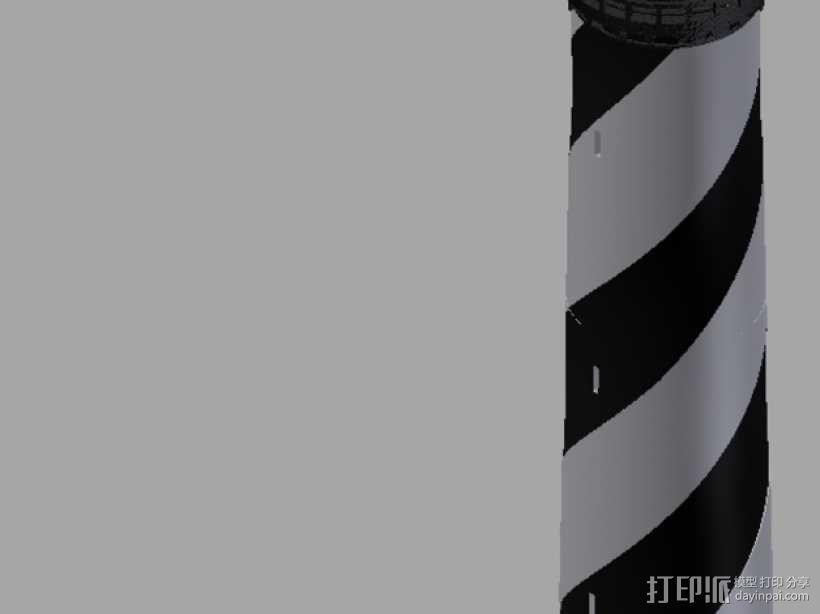 海特瑞斯角灯塔 3D模型  图2