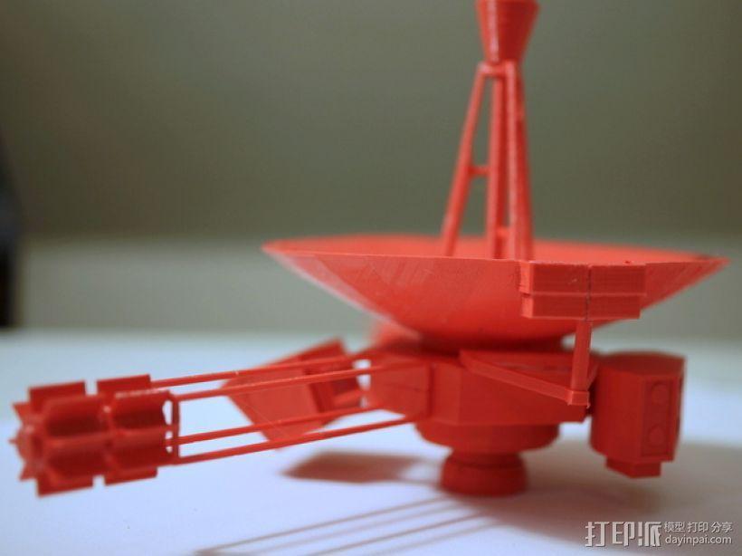 先锋十号太空飞行器 3D模型  图1