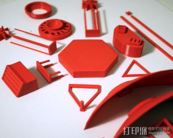 先锋十号太空飞行器 3D模型  图2