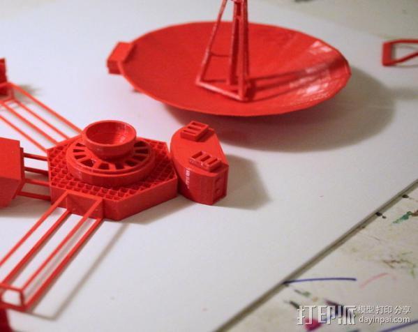 先锋十号太空飞行器 3D模型  图4