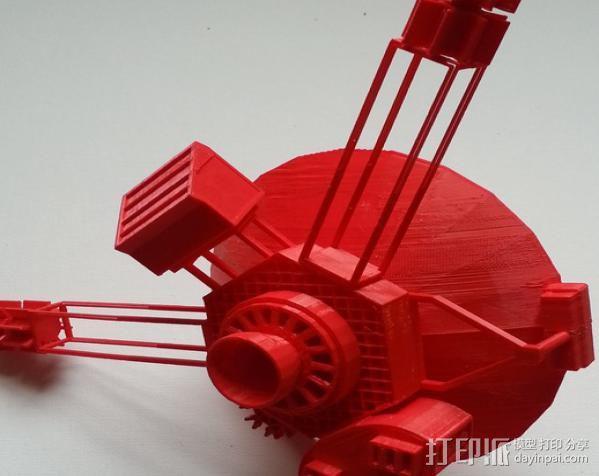 先锋十号太空飞行器 3D模型  图3