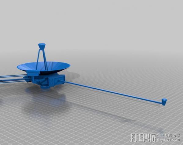 先锋十号太空飞行器 3D模型  图6