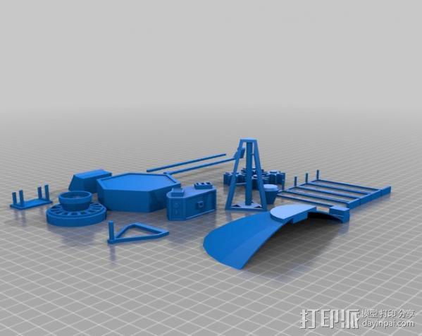 先锋十号太空飞行器 3D模型  图15