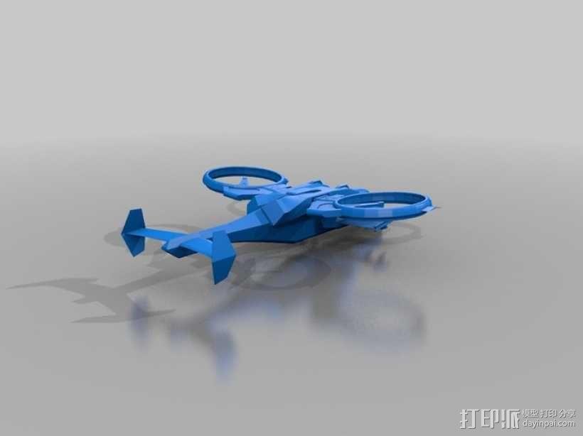 猛禽战斗机 3D模型  图1