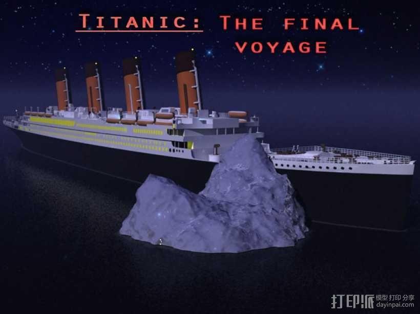 泰坦尼克号 3D模型  图4