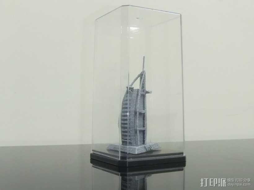帆船酒店  3D模型  图4