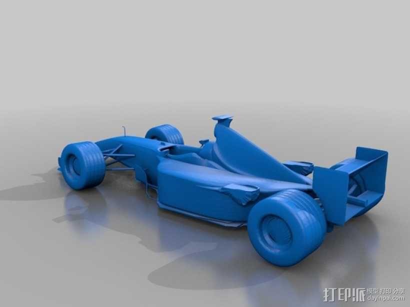法拉利FI赛车 3D模型  图1
