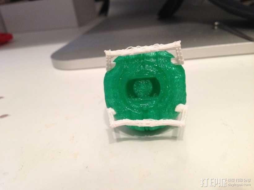 格拉多斯传送门 3D模型  图1