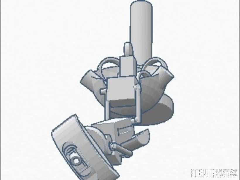 格拉多斯传送门 3D模型  图2