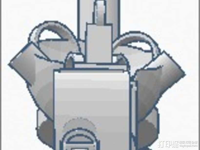 格拉多斯传送门 3D模型  图5
