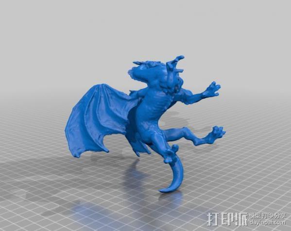 野火龙 森林龙 3D模型  图2