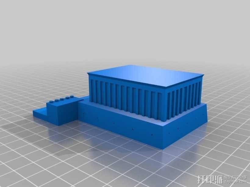 亚狄陵 3D模型  图1
