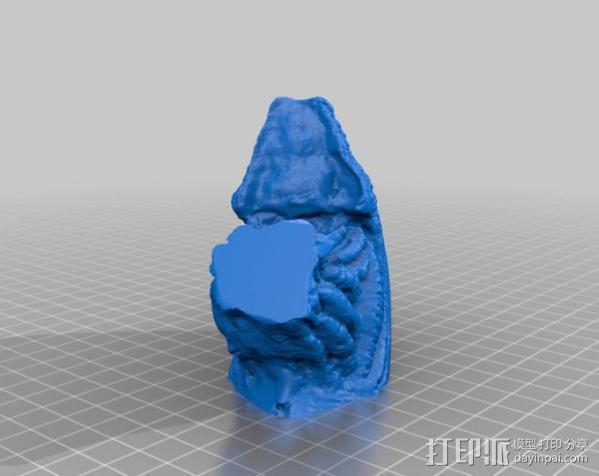 外星人头部模型 3D模型  图7