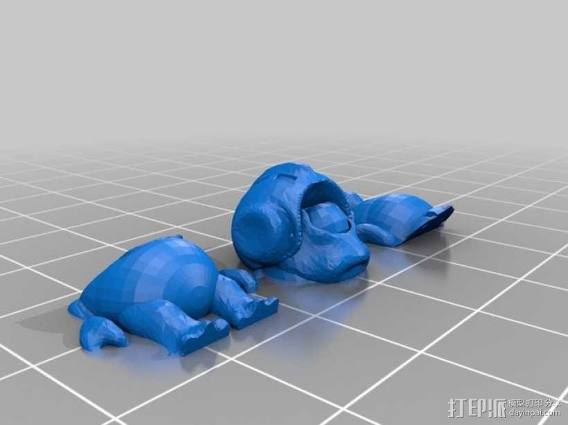 大眼仔 3D模型  图3