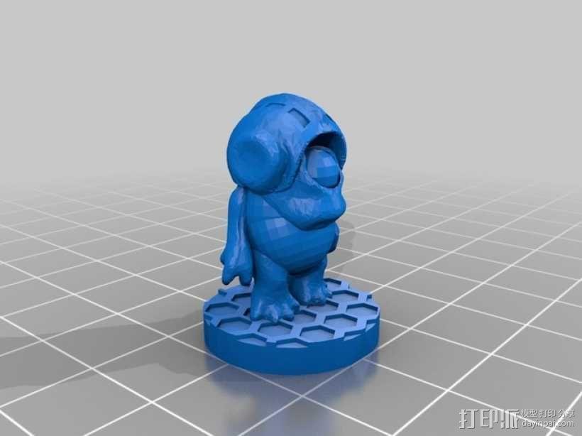 大眼仔 3D模型  图4