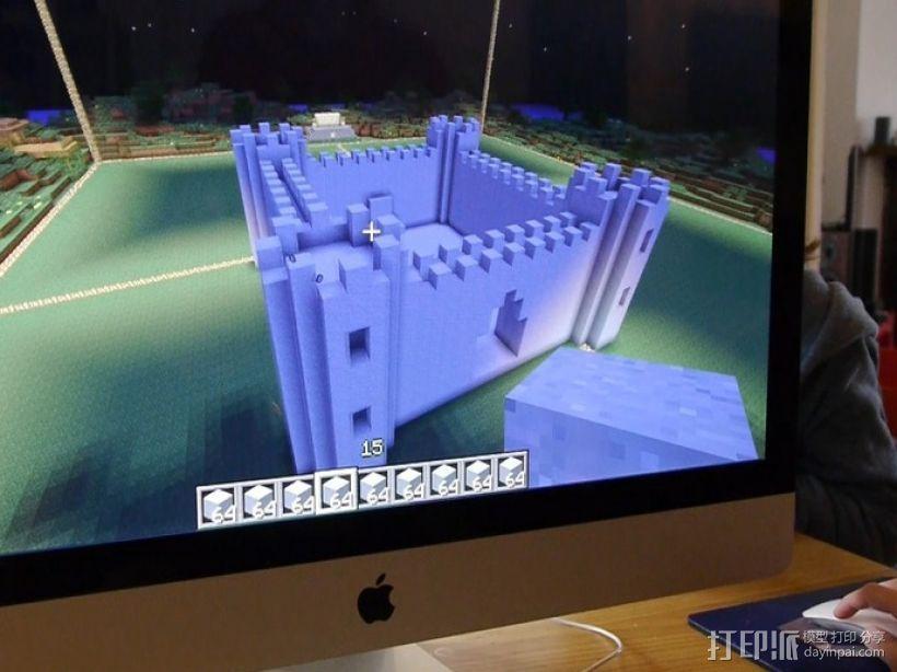 城堡 游戏建筑 3D模型  图2
