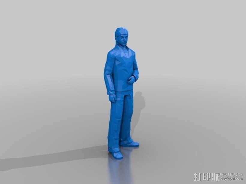 人像模型 3D模型  图1