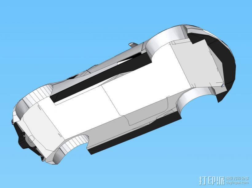布加迪威龙跑车 3D模型  图2