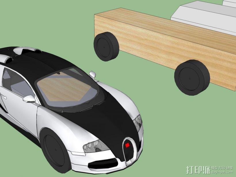 布加迪威龙跑车 3D模型  图3