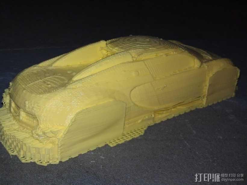 布加迪威龙跑车 3D模型  图5