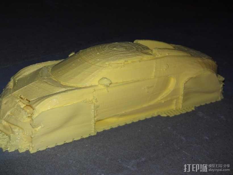 布加迪威龙跑车 3D模型  图6