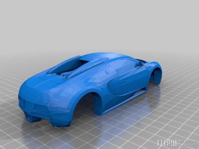 布加迪威龙跑车 3D模型  图7