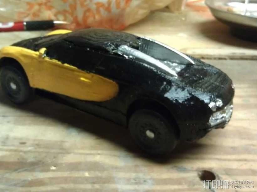 布加迪威龙跑车 3D模型  图10