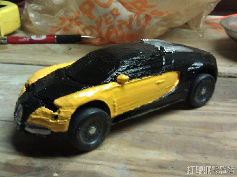 布加迪威龙跑车 3D模型  图9