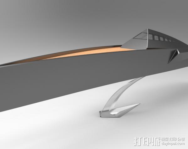 Proteus船 3D模型  图2