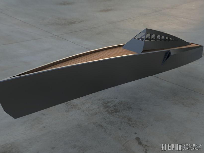 Proteus船 3D模型  图1