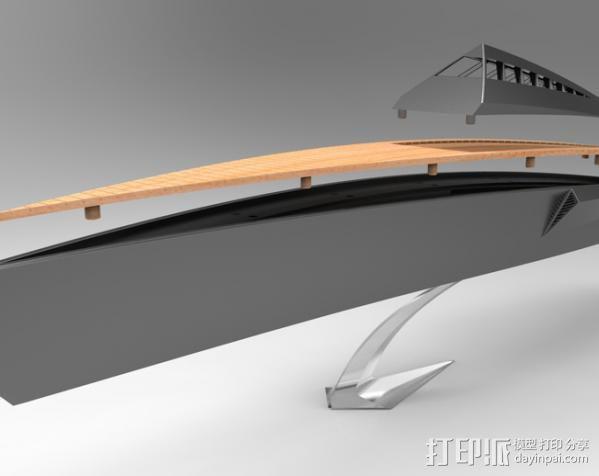 Proteus船 3D模型  图3