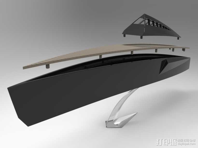 Proteus船 3D模型  图4
