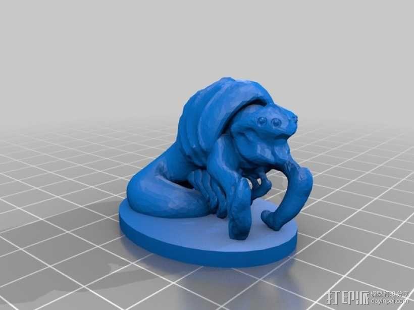 大爬虫 3D模型  图6