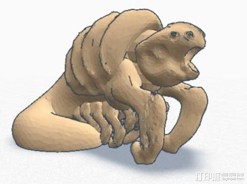大爬虫 3D模型  图5