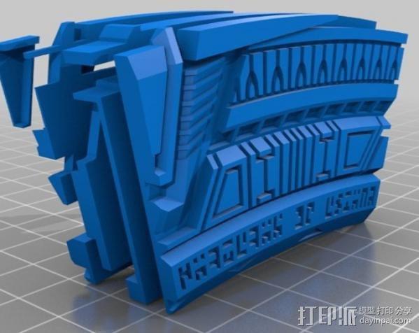 星际之门  3D模型  图3
