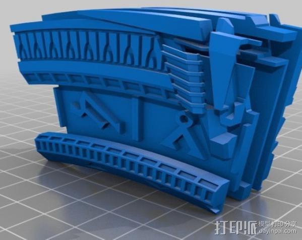星际之门  3D模型  图4