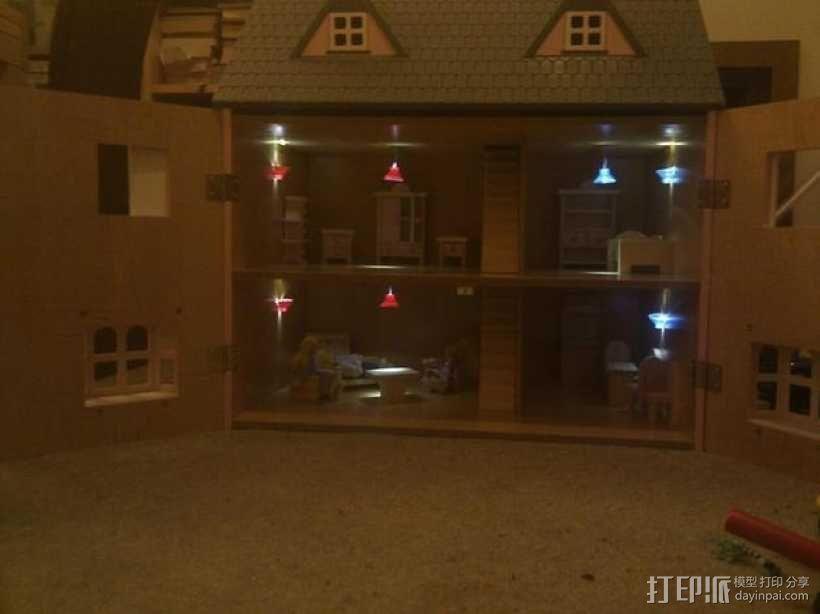 迷你灯罩 3D模型  图1