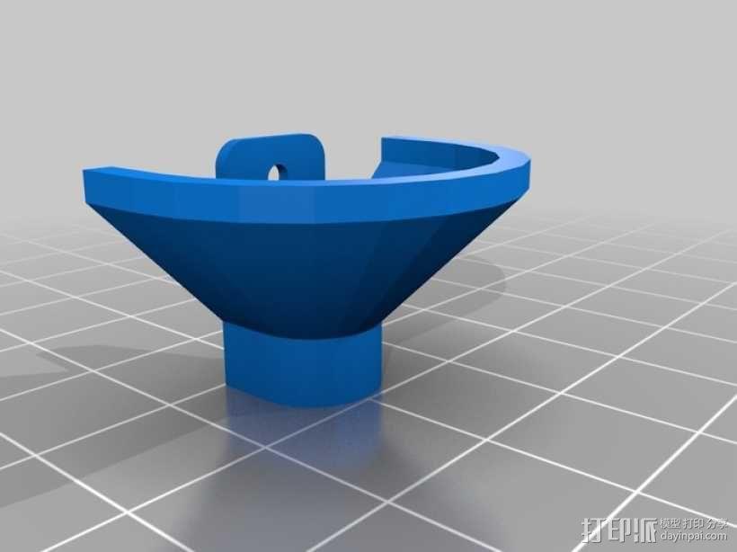 迷你灯罩 3D模型  图2