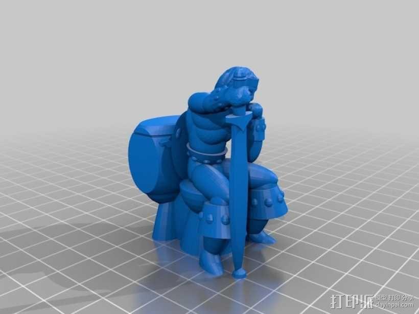 看守员 游戏造型  3D模型  图2