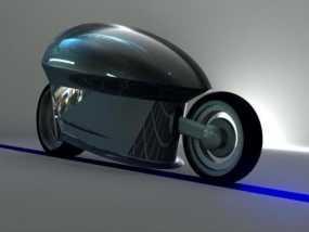智能摩托 3D模型