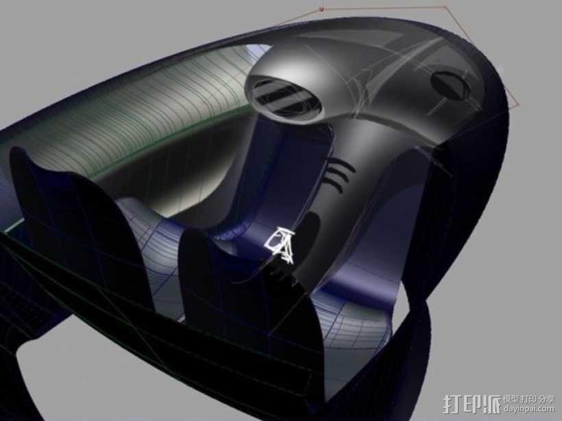 智能摩托 3D模型  图4
