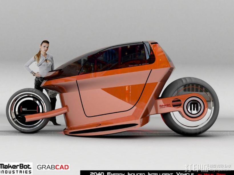 智能摩托 3D模型  图7