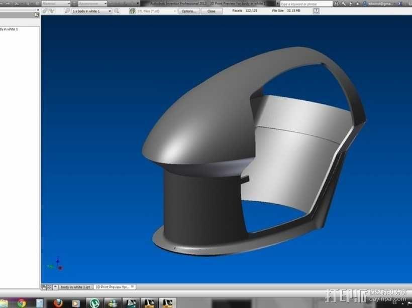 智能摩托 3D模型  图6